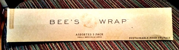 Bee's Wrap is sustainable, and uses minimal packaging!