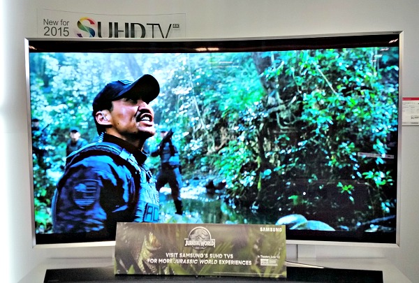 The picture, the sound - the Samsung SUHD TV is so amazing!