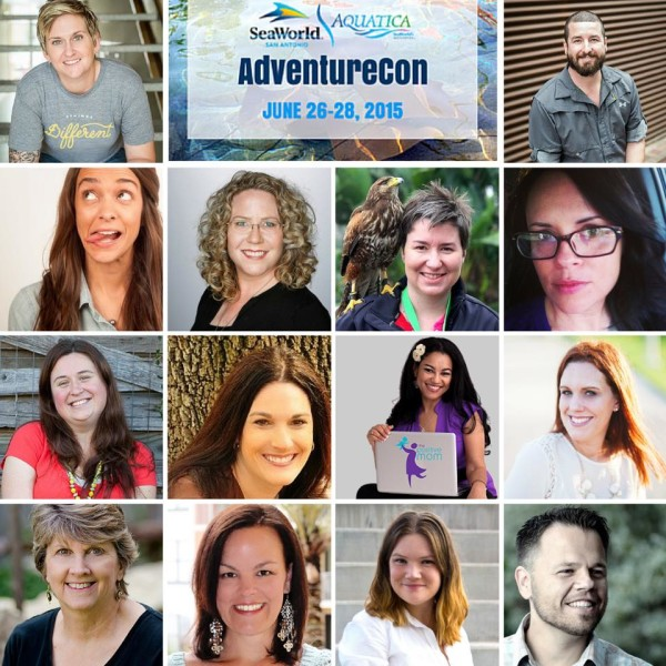 The Fabulous Speakers at SeaWorld® AdventureCon15