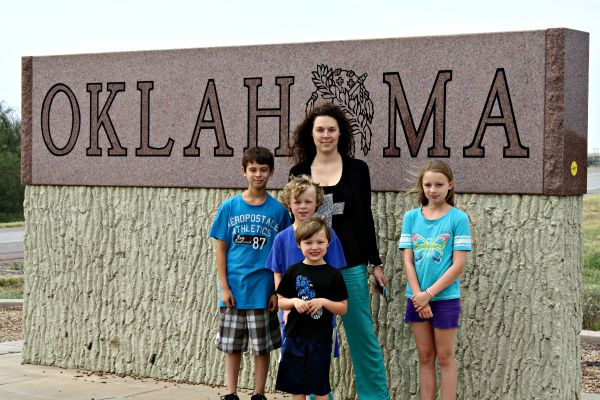 I had a relaxing vacation to Oklahoma with my daughter & grandkids!