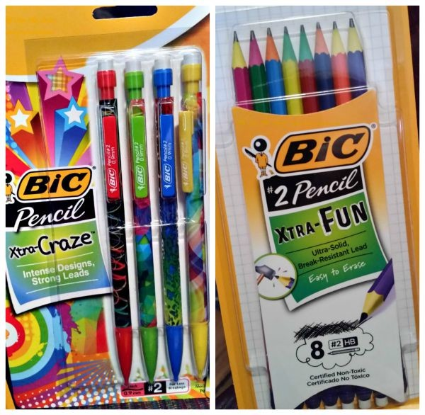BIC Pencils - regular and mechanical. The Back-To-School writing staple!