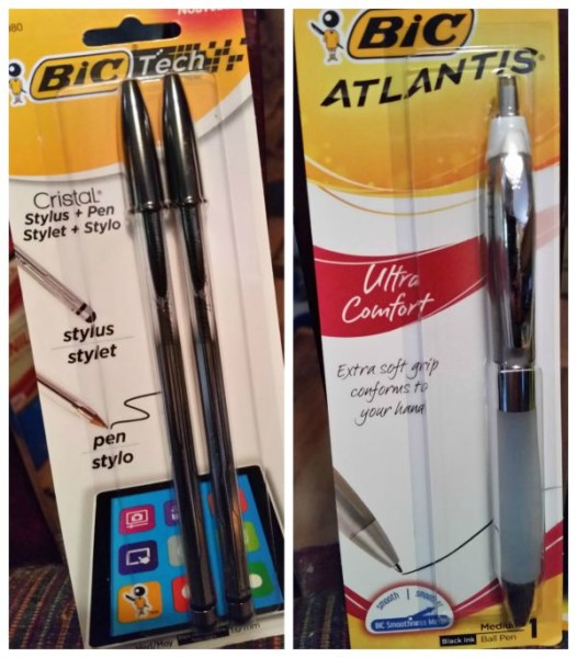 Everyone needs a good pen for writing letters. BIC has the best!