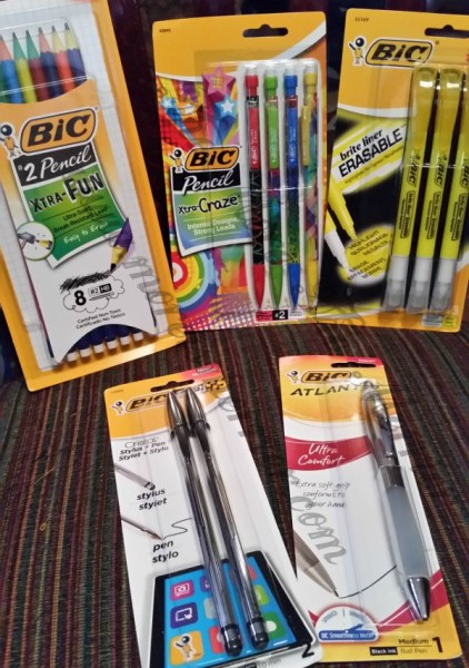 BIC makes a huge assortment of writing instruments. These are just a few!