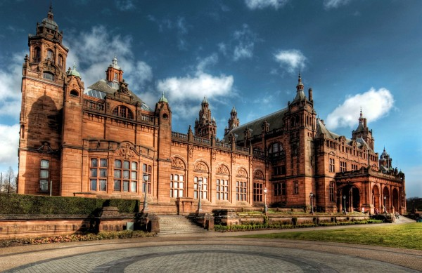 Kelvingrove Castle in Glasgow