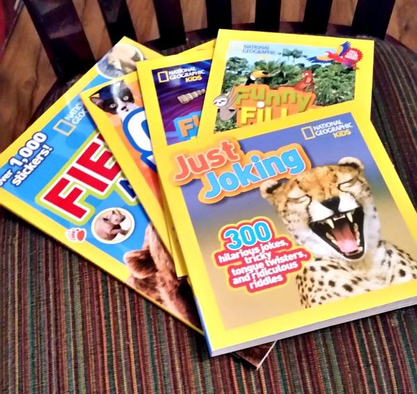 Five wonderful National Geographic books that will help your child learn and LOVE reading!