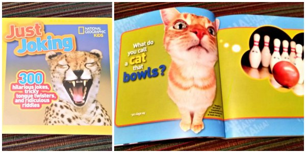 Funny Fill Ins books from National Geographic help your child learn about reading!