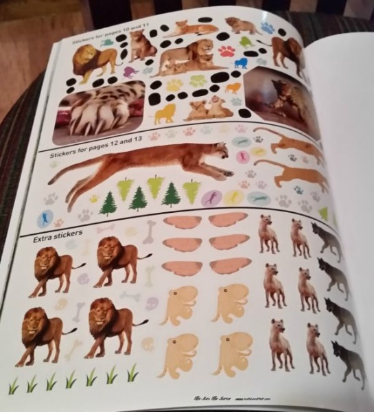National Geographic Sticker Books have a TON of great stickers!