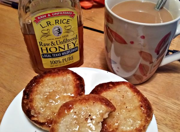 Honey and Biscuits are the best for breakfast. Pinnacle Foods & R.L. Rice Honey