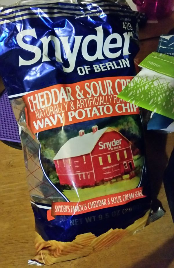 Snyder of Berlin Cheddar & Sour Cream Chips from Pinnacle Foods