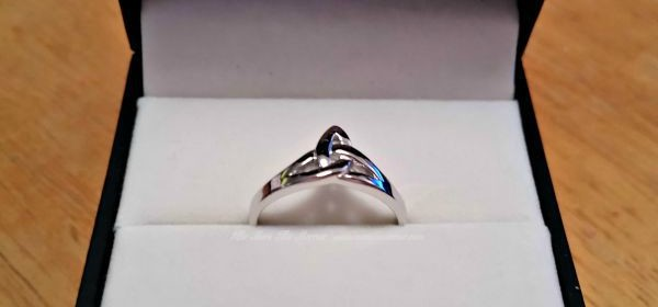 Trinity Knot Ring from Celtic Wedding Rings