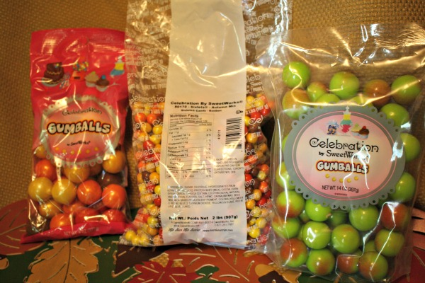 SweetWorks Shimmers Candy & Gumballs and Caramel Apple Gumballs!