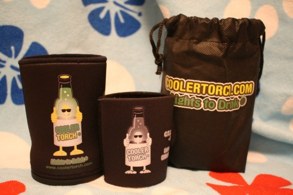 The LED Flashlight Koozie Set