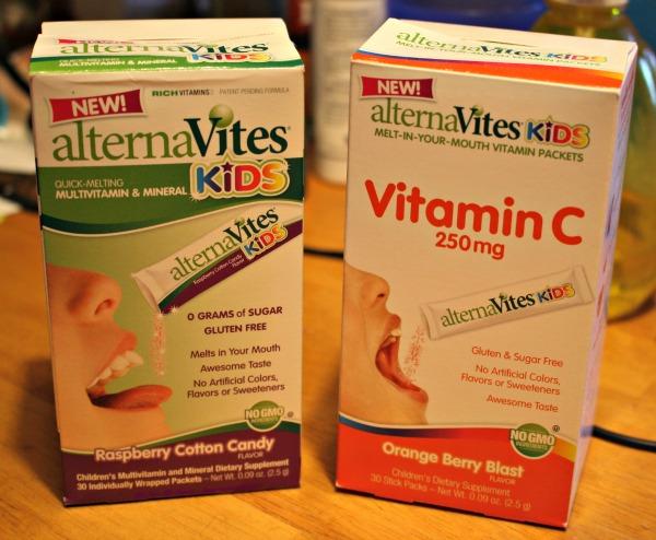 alternaVites Kids and Vitamin C
