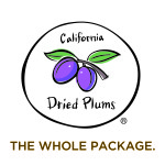 California Dried Plums - The Whole Package Logo