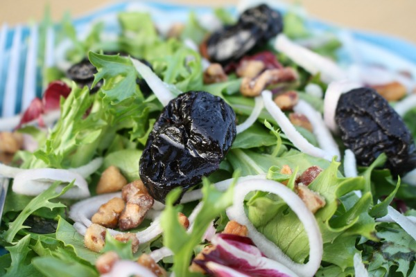 Doesn't this California Dried Plum look delicious in salad?!