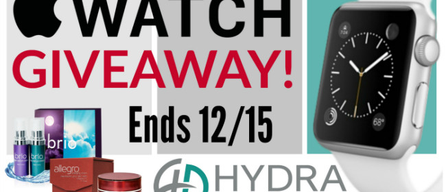 Turn Back the Clock – Apple Watch and Hydra Skin Sciences Giveaway