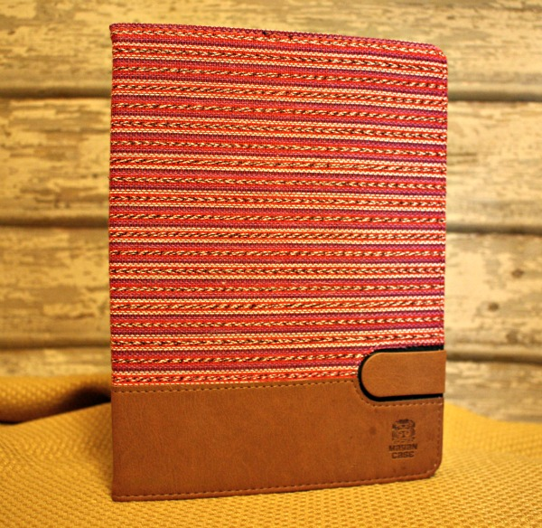 Mayan Cases use fabrics hand woven on wooden looms
