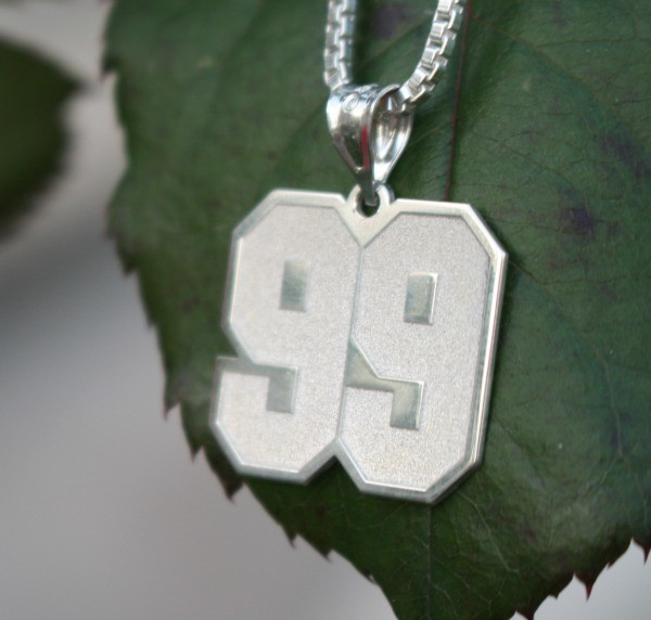 J.J.Watt Jersey Number Pendant from Pictures On Gold