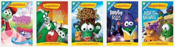 Keep relaxing! The Dove Channel has Veggie Tales for the kids!