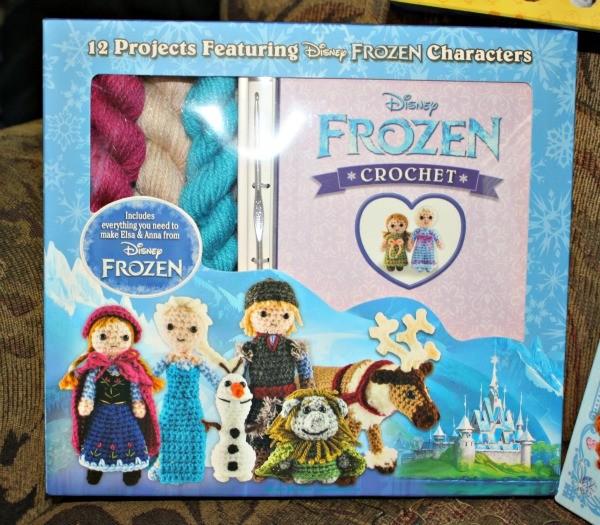 The Disney® Frozen crochet kit from Thunder Bay Press