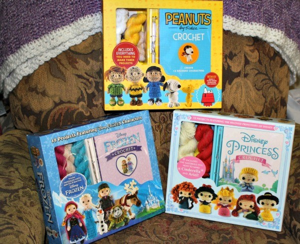 Crochet Kits from Thunder Bay Press! They have everything you need to crochet two characters!