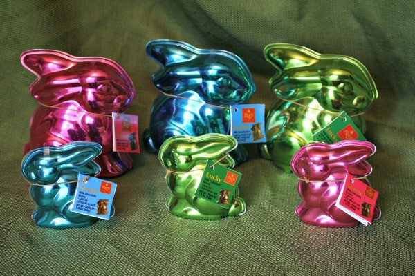 The new Easter Bunnies from Chocolat Frey®!