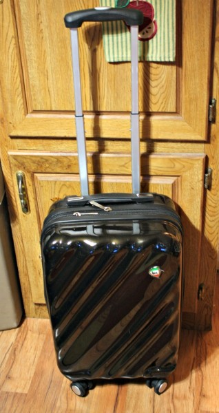 This Spinner Luggage from BeltOutlet.com is ready and waiting!