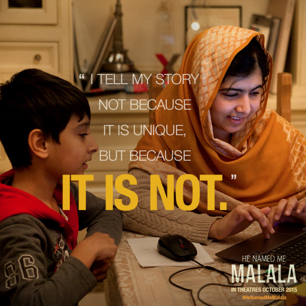 Malala fights for education for everyone