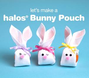 Halos® Easter Bunny Pouch