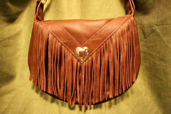 Spring In The USA prize Large Fringed Handbag from N. Star Leather