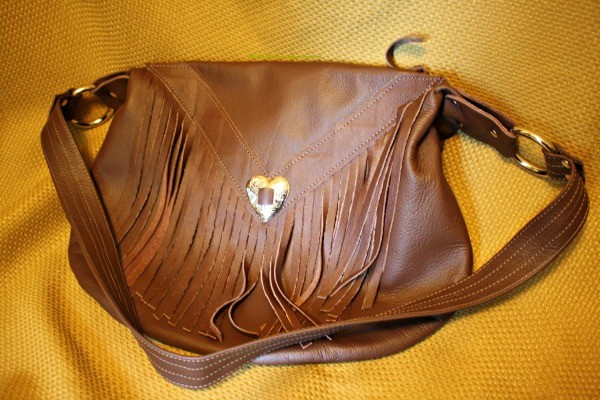 Win this Large Fringed Purse from N. Star Leather Co. in the Spring In the USA Giveaway Hop!