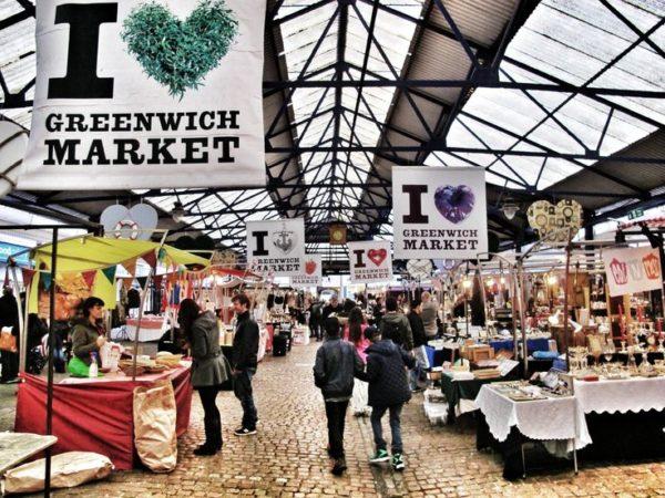 Offbeat Places in London: Greenwich Market