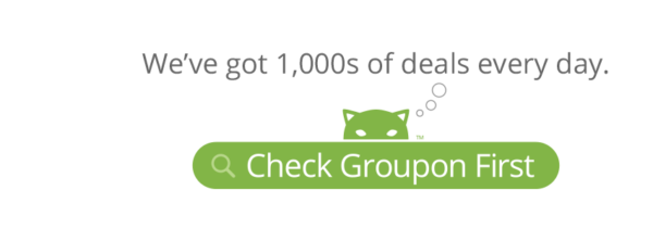 You can save with Groupon Coupons!
