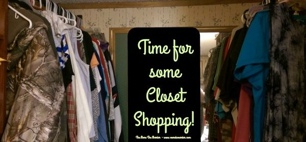 Let's Go Shopping – In Our Own Closets!