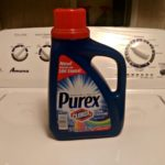 Purex plus Clorox 2 is perfect for our laundry!