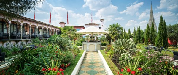 Off Beat Places in London: Roof Gardens of Kensington