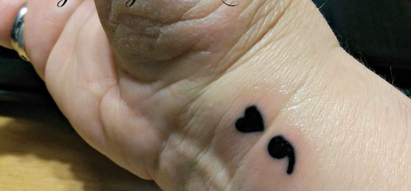 The Symbolism of My Semicolon Tattoo