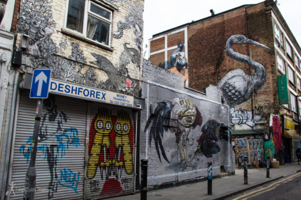 Offbeat Places in London: Street Art