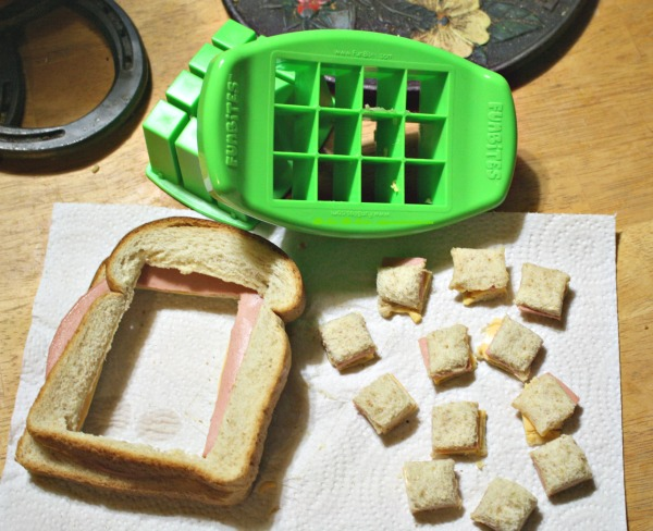 FunBites cuts the crust for even better fun sandwiches!