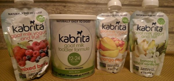 KABRITA Goat Milk Yogurt & Toddler Formula