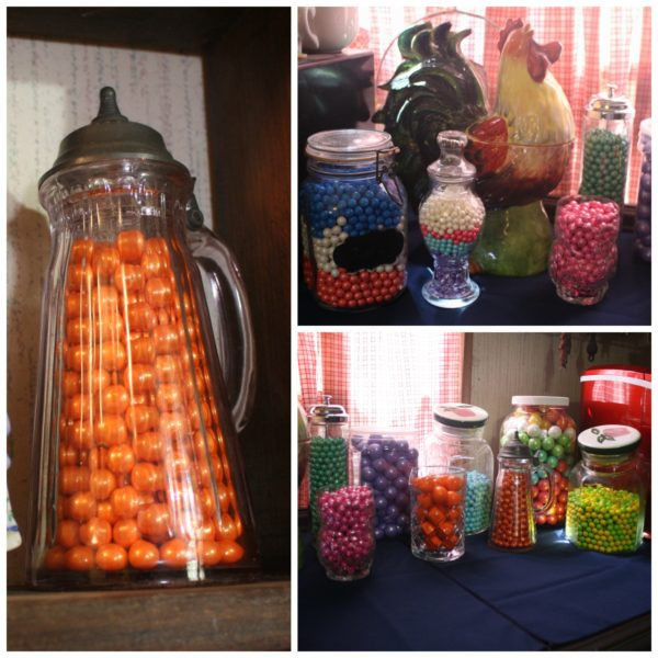 Candy Buffets are made up of so many elements