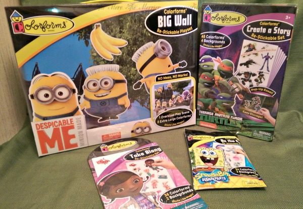 Win a Colorforms Prize Package! (ARV $44)