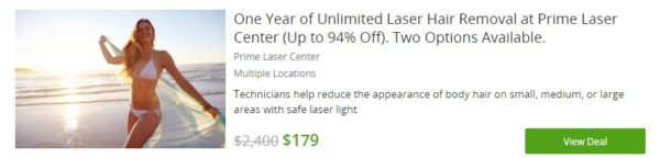 You can find all kinds of great deals on Groupon!