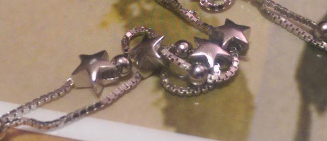 A Tiny Galaxy On A .925 Silver Bracelet