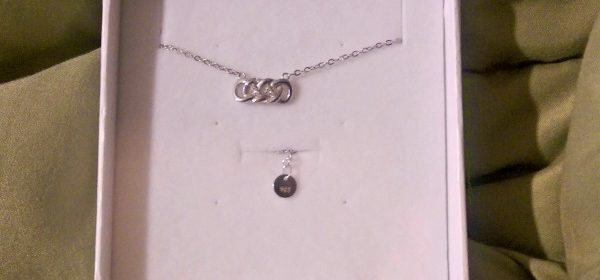 Double Infinity Pendant from Habeats