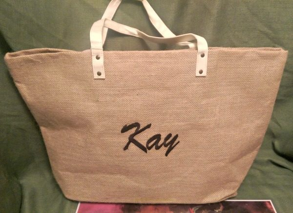 Jute Tote Bag Fall Wedding Favors