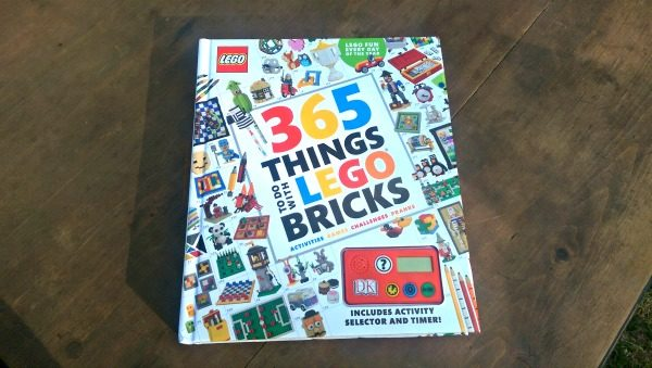 """365 Things To Do With LEGO Bricks"" has activities, games and more!"