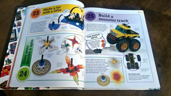"The ""365 Things To Do With LEGO Bricks"" book has lots of activities, games and more!"