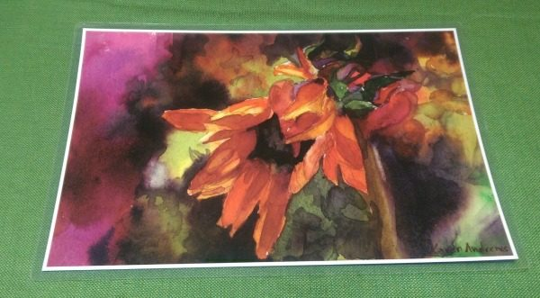 'Intense Flower' placemat from Inner Vision Studio