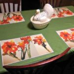 Inner Vision Studios makes the most beautiful placemats!